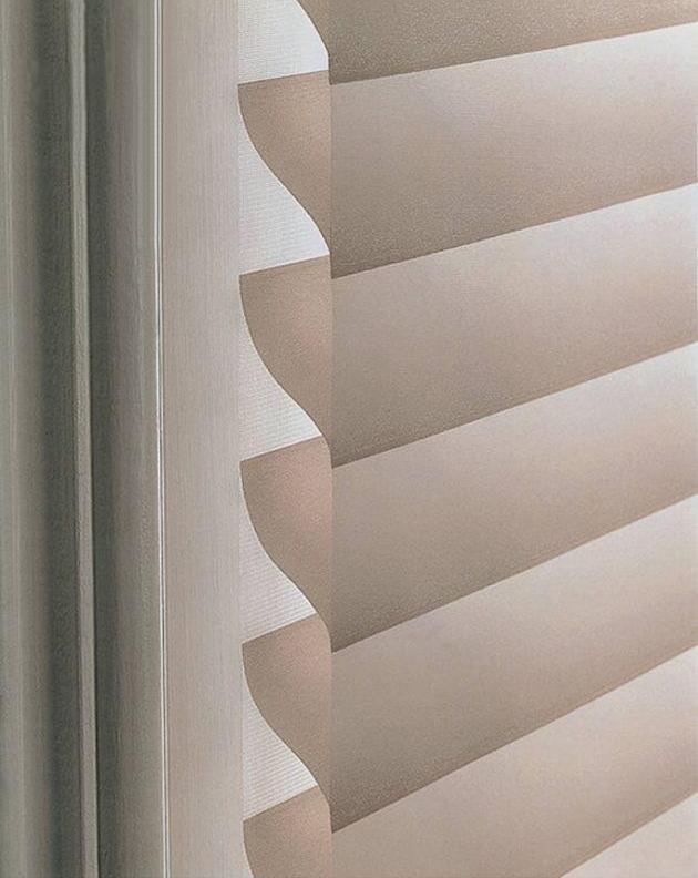 2eaf5aa292fd4 Ľahké ako hodváb, elegantné ako záclona a praktické ako žalúzie. Našou  novoročnou novinkou sú látkové roletožalúzie, vo svete známe pod názvom  Silhoutte.